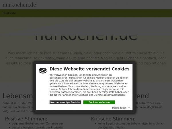 nurkochen.de