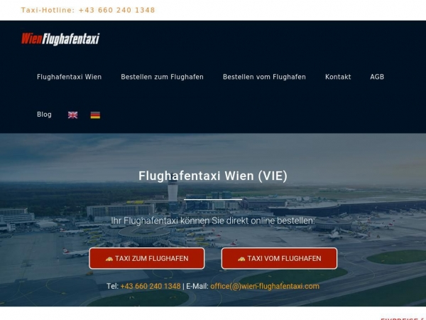 wien-flughafentaxi.com